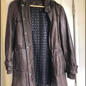 Leather jacket (brown) Danier leather